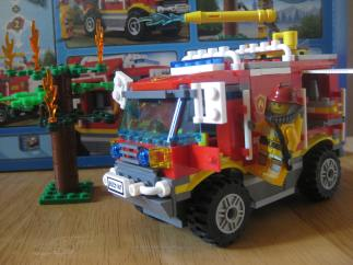 A successful project with my son ... courtesy of the hundreds of Lego pieces. A definite high-five moment.