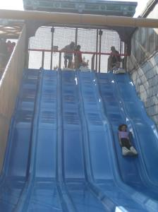 This one was our favorite -- the giant slide.