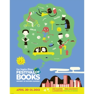 This year's Festival of Books poster.