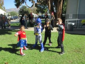 ... Striking your best Superhero pose