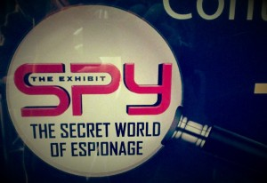 We got our secret agent stickers and prepared ourselves for the movie and spy history lesson.