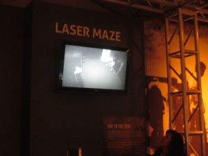 They enjoyed all the exhibits, however the lazer maze was their favorite.