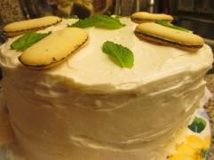 My first three-layer cake.