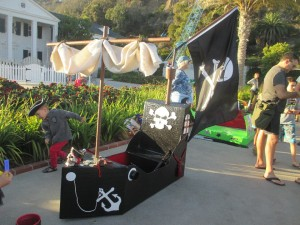 The Pirate Ship, who happened to win for best theme.
