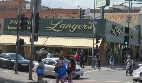 Langer's Delicatessen.