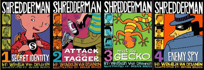 Shredderman Books