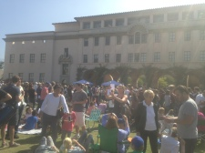Campus was filled with Big Bang Theory enthusiasts