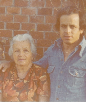 Grandma Julia and Dad
